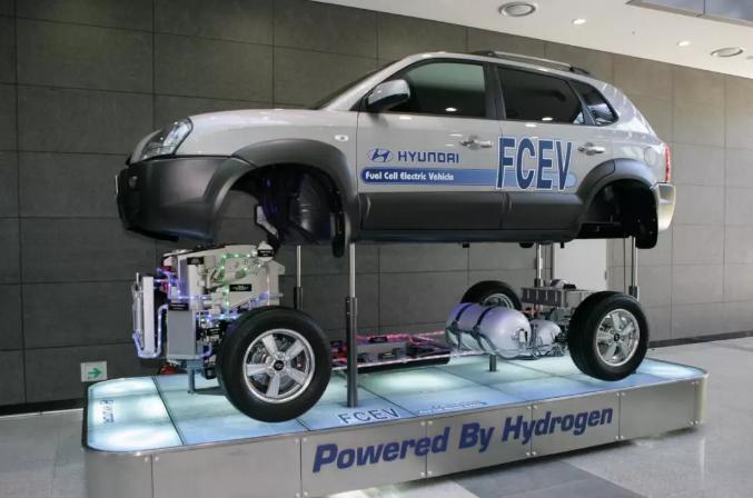 现代NEXO来了 氢燃料电池车前途一片光明
