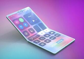 苹果公布专利申请的折叠式iPhone预想概念设计