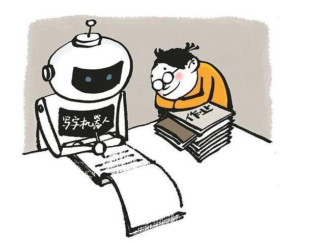 抄作业机器人买断货,学生用写字机器人抄作业,老师也用它写教案