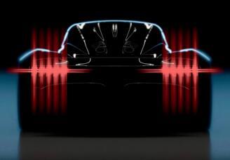 阿斯顿•马丁全新中置引擎超跑Project 003预计将在日内瓦车展亮相