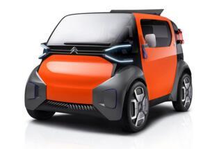 雪铁龙Ami One双座电动概念车即将亮相日内瓦车展