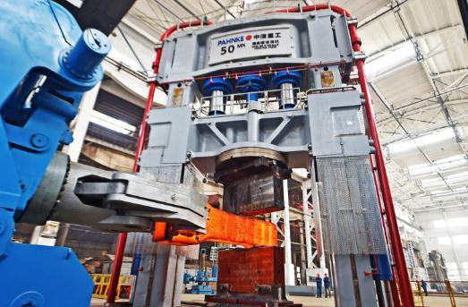 中信重工重装厂数字化车间,全面打造数字化工厂