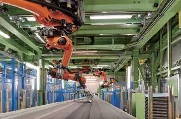 智能高效的冲压自动化方案应用于冲压产线