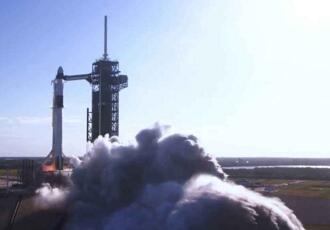 """""""猎鹰9""""火箭将以色列""""创世纪""""号月球探测器送入太空"""
