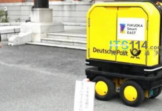 日本政府将从今年四月开始允许无人送货车在公共街道上进行测试