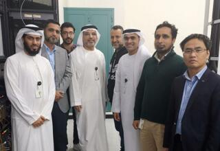 Etisalat运营商与华为共同完成了业界首个单波600G创新试点
