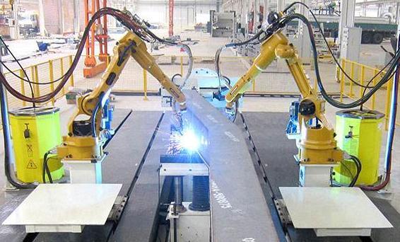 工业激光焊接机器人焊接火箭发动机喷管