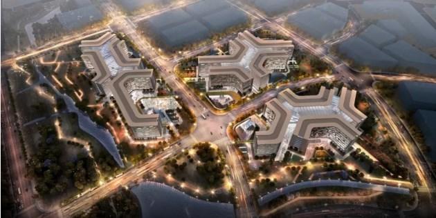 阿里巴巴北京朝阳区电子城北区总部项目2019年11月开工2024年投入使用