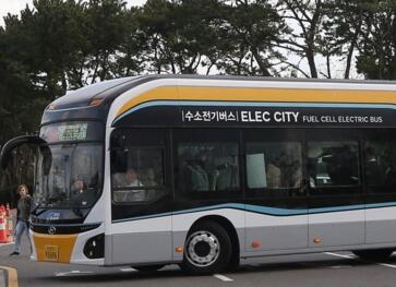 韩国交通部:计划到2022年将2000辆氢燃料电池巴士投入运营