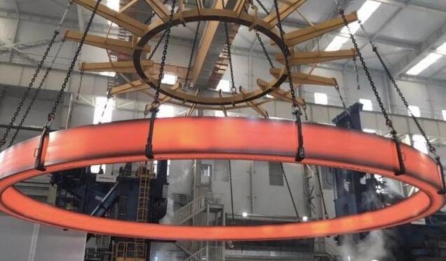中科院金属研究所无焊缝整体不锈钢环形锻件顺利轧制成功,直径15.6米,重达150吨,世界最大
