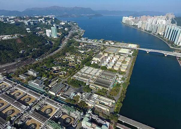 沙田污水处理厂——香港最大的污水处理厂【图解】