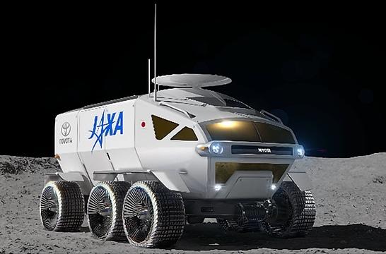 日本航天局与丰田达成合作,共同开发越野月球车