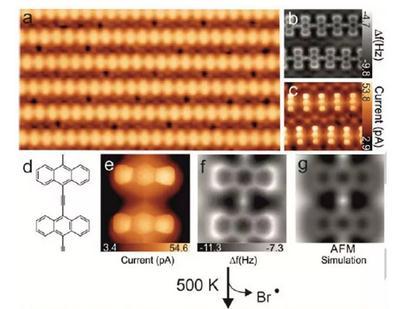 Au(111)电极表面制备了亚乙炔桥接的线性p-聚蒽