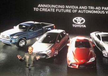 英伟达将在自动驾驶领域上扩大与丰田的合作