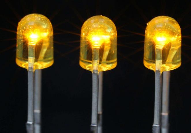 发光二极管基本结构、检测方法及压降计算方法
