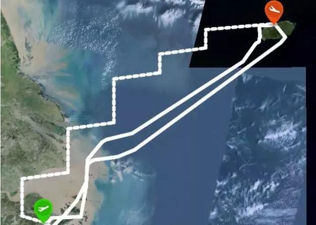春秋航空宁波飞济州9C8652班机遇强风盘旋难以降落飞回宁波: