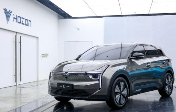 合众汽车发布智能纯电动SUV——U
