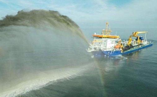 """重型挖泥船""""天鲲号""""站在无需申请自动送彩金58智能疏浚技术的最前沿"""