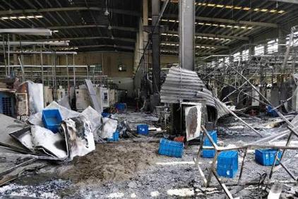 昆山汉鼎精密金属有限公司工厂车间燃爆致7死1重伤