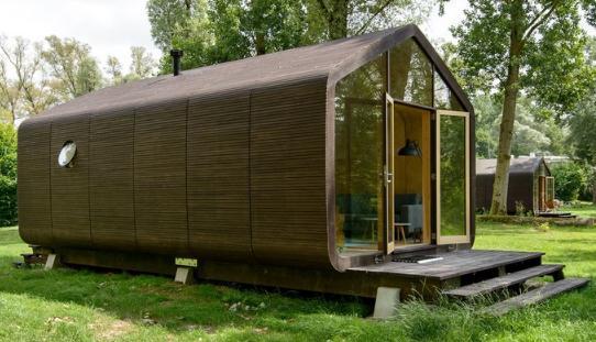 用瓦楞纸制作房子——荷兰Fiction Factory建筑公司