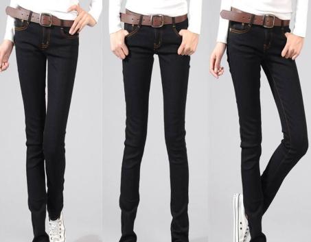 黑色铅笔裤什么面料好?铅笔裤裁剪计算公式与图纸