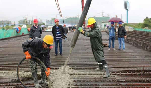 ?混凝土的施工流程、混凝土施工质量通病和解决方法