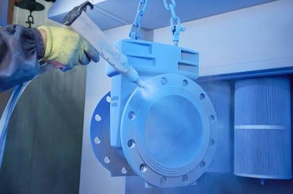 旋装式机油、柴油滤清器粉末涂料静电喷涂常见缺陷及解决方法