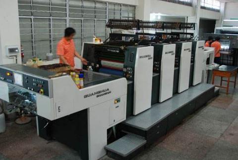海德堡四色机印版水膜控制注意事项