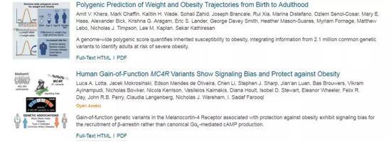肥胖变异可以让你比同龄人胖20多斤