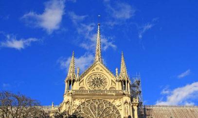 巴黎圣母院大火救援与修复,探讨古建筑古文物的数字化保护