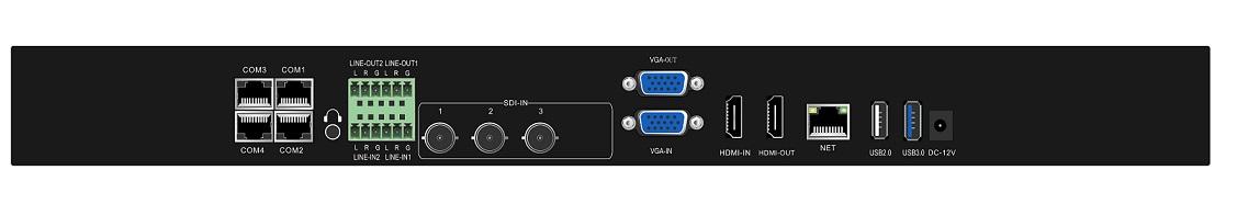 派尼珂3机位高清视频会议录播系统解决方案