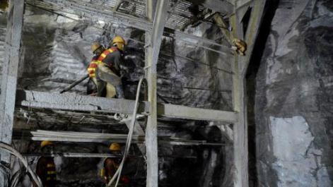 红豆山隧道发现8种毒气——首次遇到有毒有害气体在非煤系地层赋存