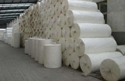 中高档木浆水刺无纺布原纸原料选择与生产工艺技术条件