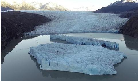 格雷冰川形成的原因及融化速度