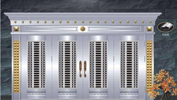 不锈钢防盗门的基本配件及安装流程【综述】