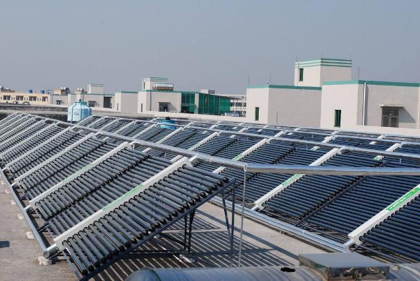 ?太阳能热水工程系统的组成、太阳能热水工程的一般形式和优缺点