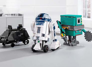 乐高推出星球大战可编程机器人套装,共三款机器人