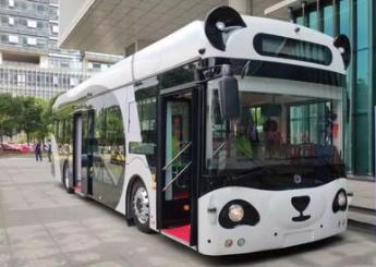 熊猫智能公交车将正式上路试运行,可实现车辆等环境信息感知识别