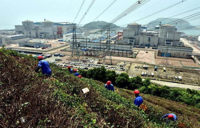 福鼎市硖门畲族乡柏洋村紧邻宁德核电基地,核电没有那么可怕