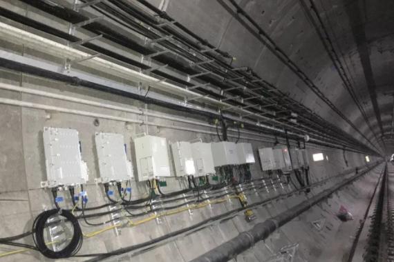 亨鑫科技助力河南铁塔在郑州地铁5号线完成三大运营商5G信号同时覆盖