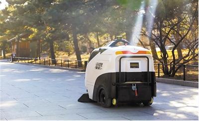 """智能环卫:环卫行业成为人工智能创新的""""风口"""""""