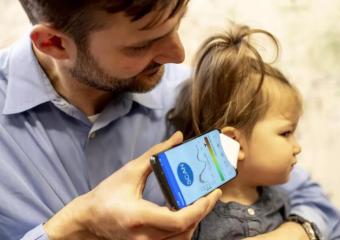 华盛顿大学科学家研发出智能手机应用程序,可检测耳膜后的液体