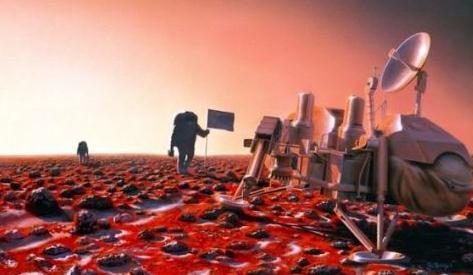 """美国""""非常不可能""""在2033年实现载人登陆火星"""