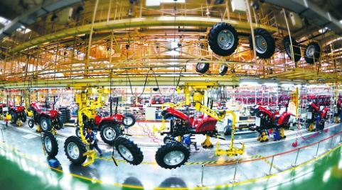 """中国一拖集团和""""东方红拖拉机发展历程"""