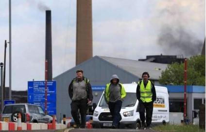 英国第二大钢铁生产商英国钢铁公司(British Steel)宣布破产