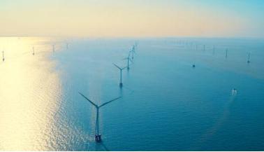 华能海上风电场利用率高达98.9% 中国海装风电机组至关重要