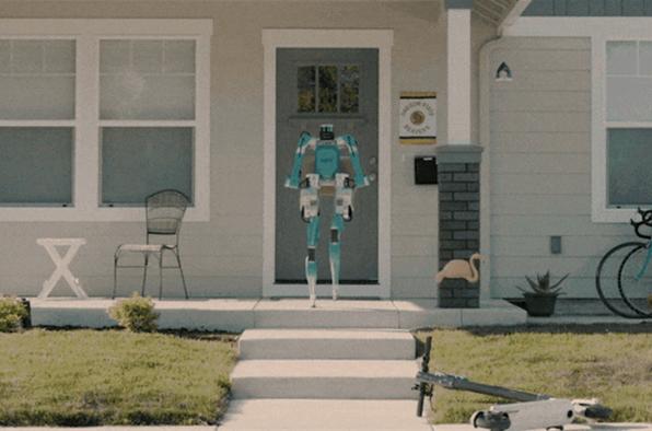 ?福特布局自动化物流:采用自动驾驶汽车+人形机器人Digit进行送货