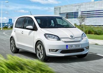 斯柯达首款量产电动车型Citigo e iV将于今年秋投产,2020年初在英上市