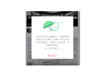 """哔哩哔哩正式上线""""青少年模式""""功能,引导青少年合理使用互联网"""