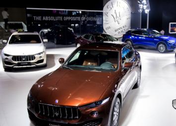 玛莎拉蒂携旗下多款重磅车型荣耀登陆第二十一届重庆车展